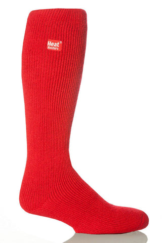 Heat Holders Long Thermal Socks - Red