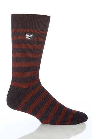 Heat Holders Stripe Thermal Crew Socks