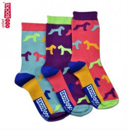 Hound - 3 Single Socks, Girls