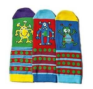 Monsters (3 single socks)