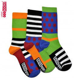 Random - 3 Boys Single Socks