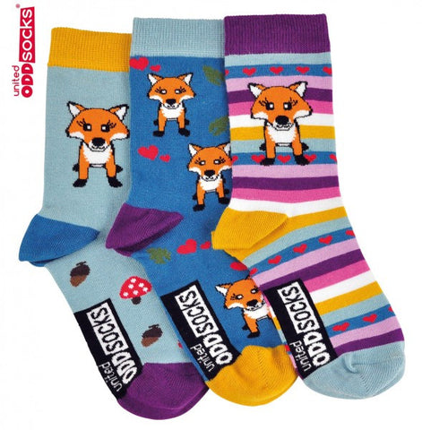 Fox  - 3 single socks