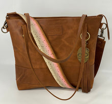 Load image into Gallery viewer, Trout Leather Bag Strap