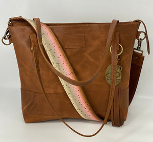 Trout Leather Bag Strap