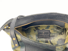 Load image into Gallery viewer, Medium Camo Leather Tote Bag