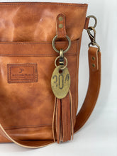 Load image into Gallery viewer, Small Wickett & Craig Leather Buck Brown Bucket Bag
