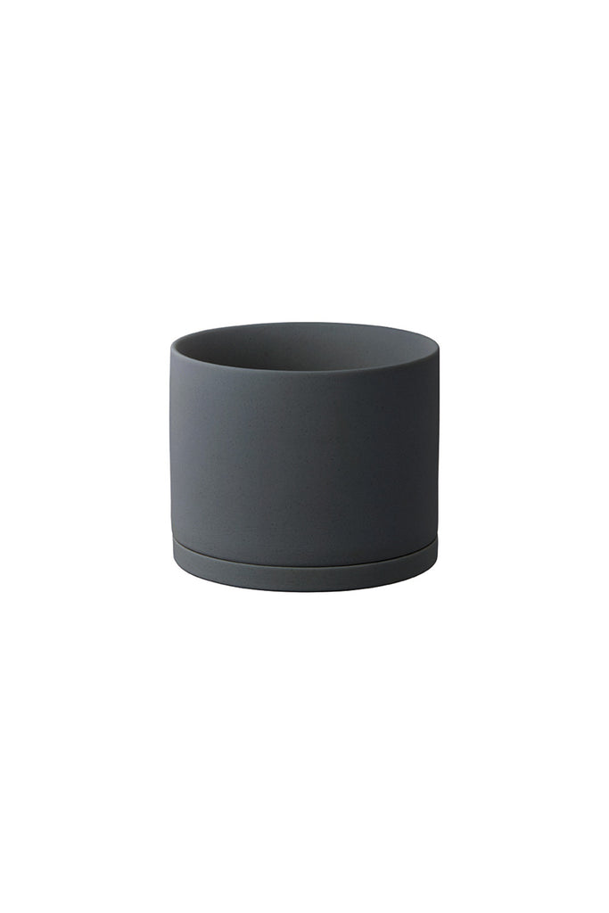 Plant Pot - Dark Grey