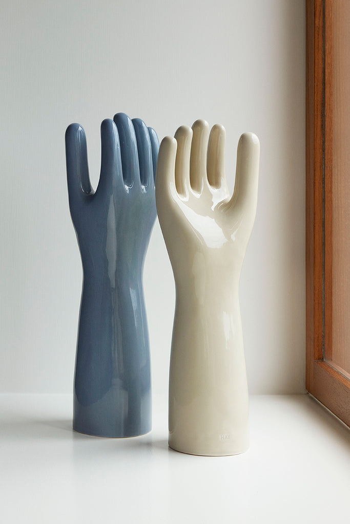 Deco Hand - Dusty Blue