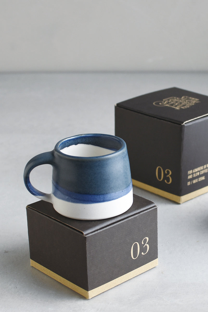 SCS-S03 Espresso Cup Navy/White - 110ml