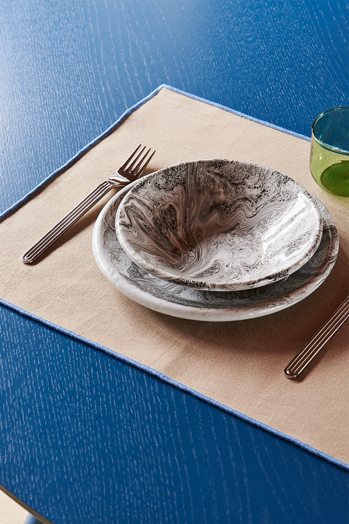 Soft Ice Lunch Plate - Grey
