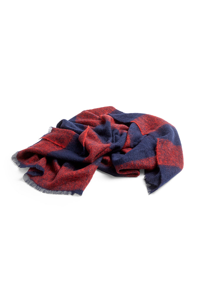 Mohair Blanket - Red