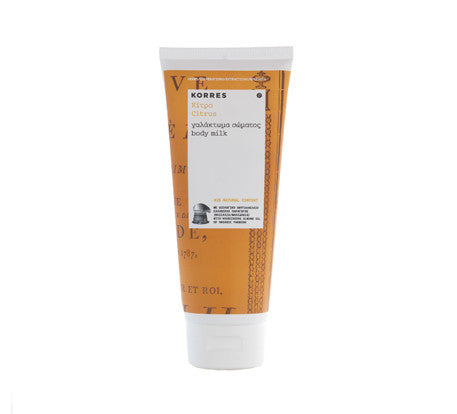 Korres Citrus Body Milk