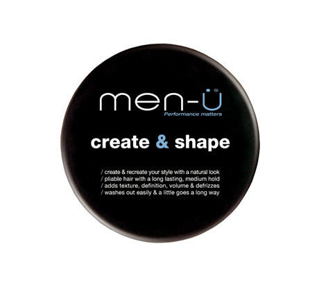 Men-u Create and Shape
