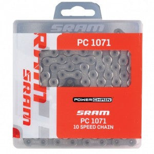 SRAM PC-1071 10 speed Chain w/PowerLock 114 links