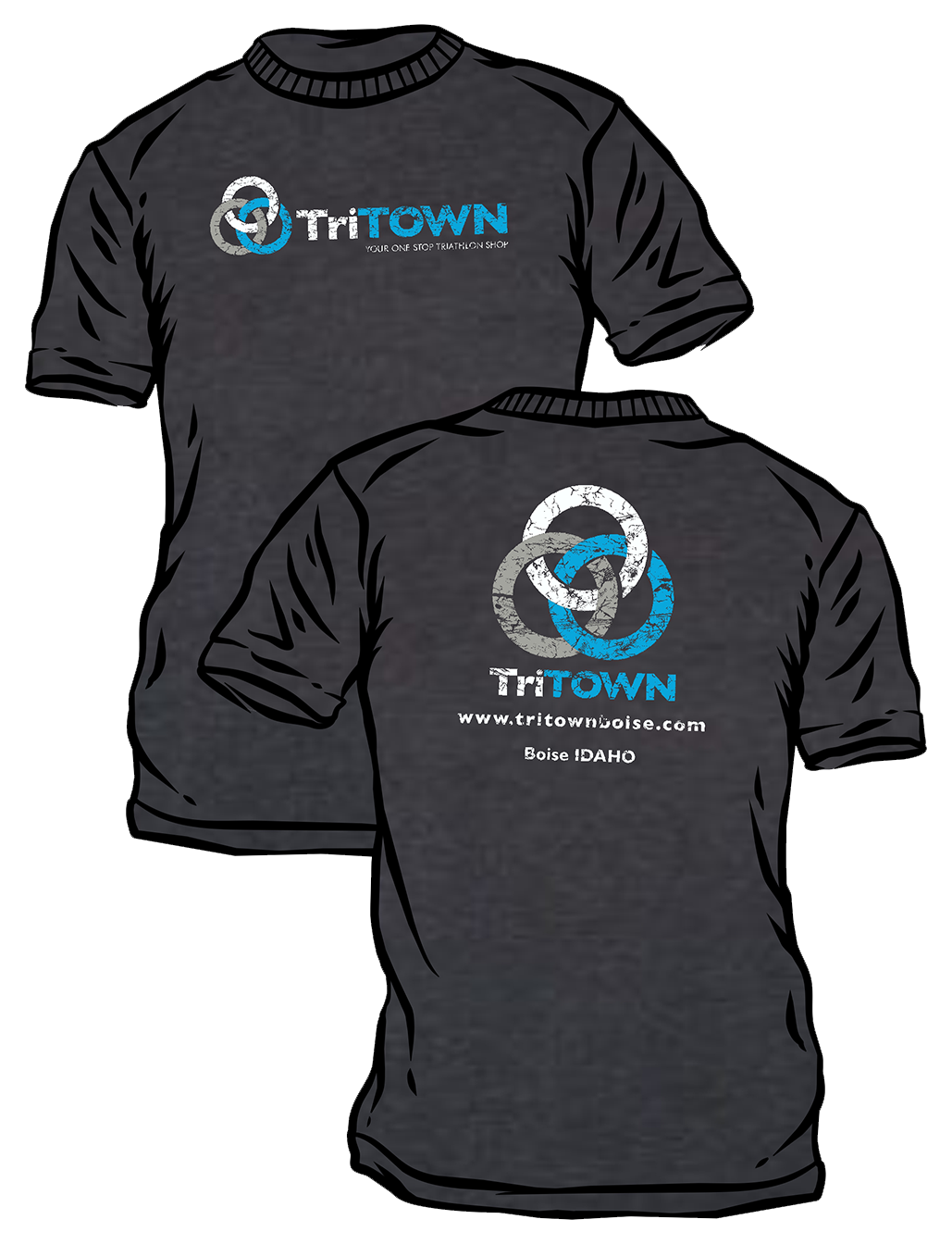 TriTown Women's Podium Shirt