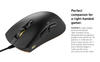 Fnatic - Clutch 2 Wired Optical Gaming Mouse - Black