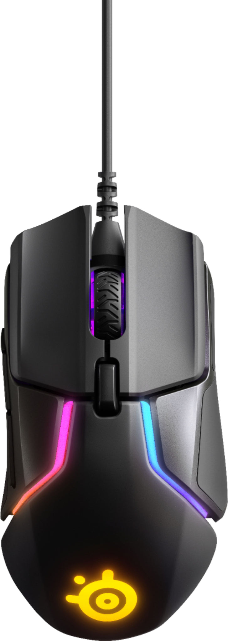 SteelSeries - Rival 600 Wired Optical Gaming Mouse with RGB Lighting - Black