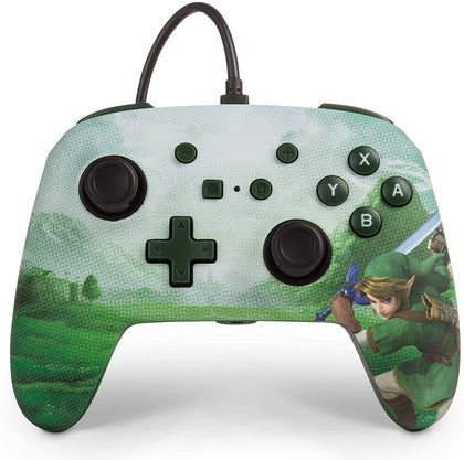 PowerA Enhanced Wired Controller for Nintendo Switch - Link Hyrule