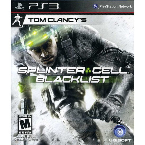 Tom Clancy's Splinter Cell Blacklist [PS3 Game]