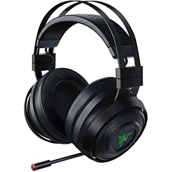 Razer Nari Wireless THX Spatial Audio Gaming Headset for PC and PlayStation 4 - Black