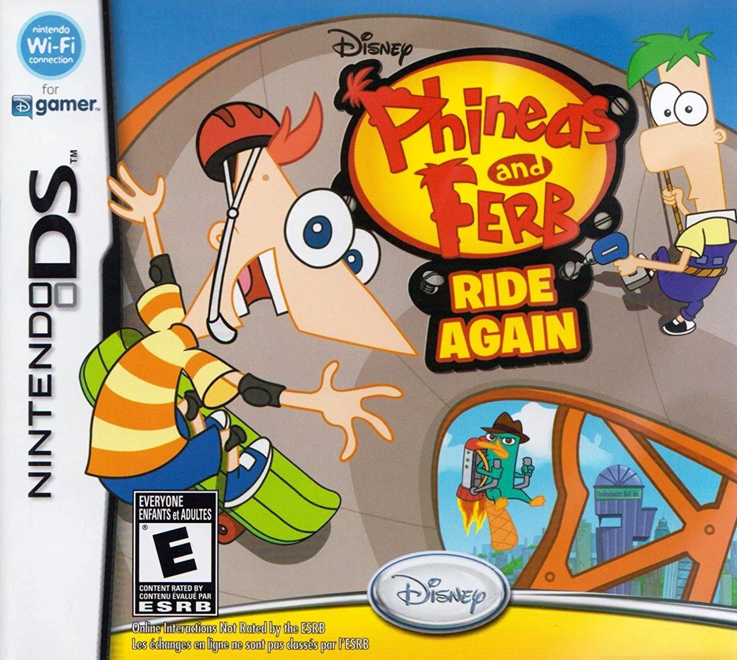 Phineas and Ferb Ride Again [DS Game]
