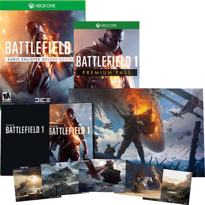 Battlefield 1 Early Enlister Delux Bundle [Xbox One Game]