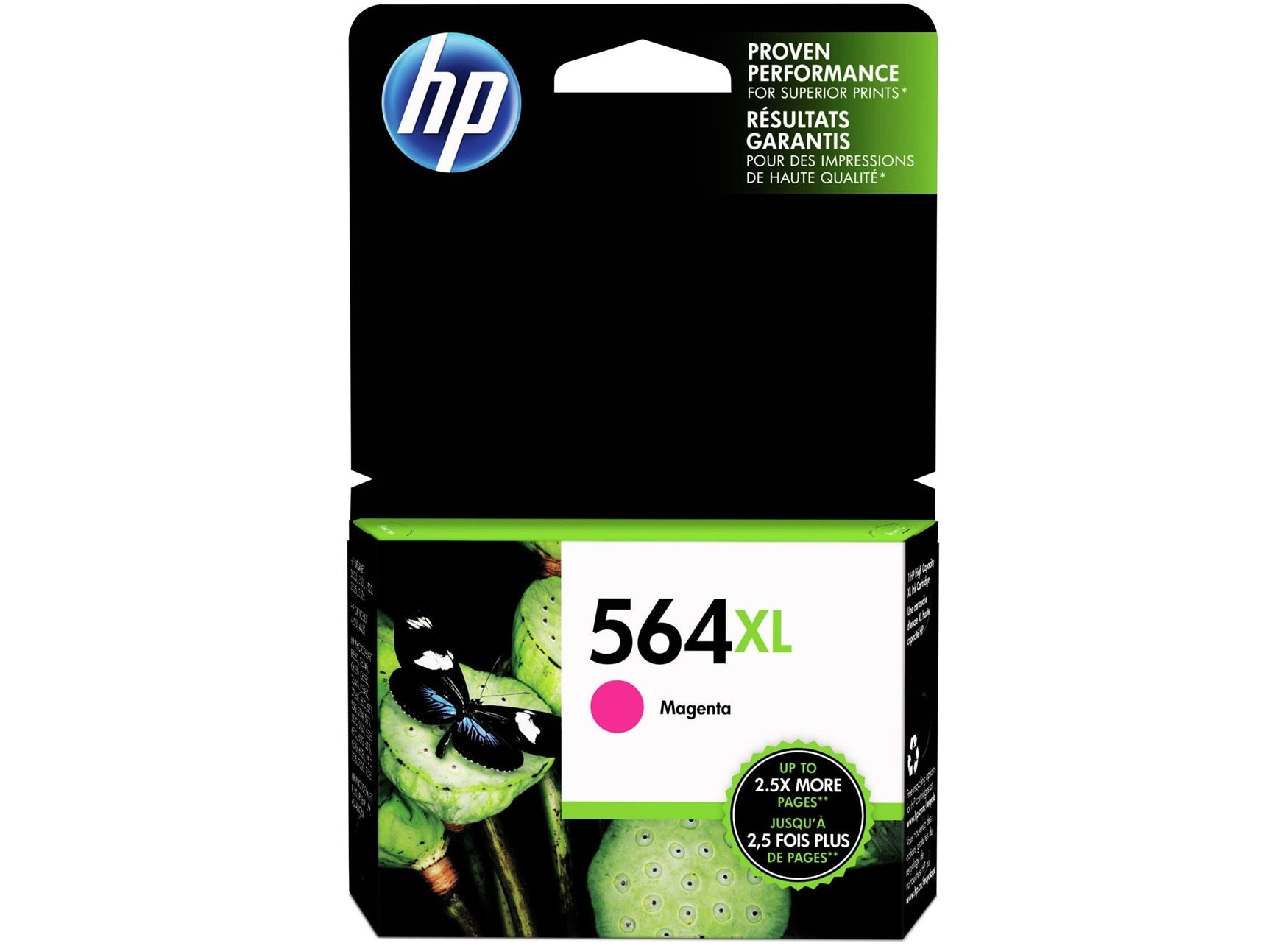 HP 564XL Ink Cartridge, Magenta - 1-pack