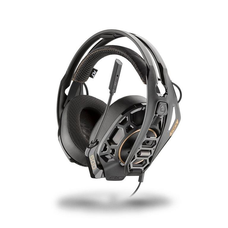 Plantronics - Rig 500 Pro HS Wired Gaming Headset for PlayStation 4 - Black