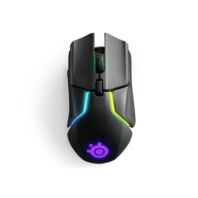 SteelSeries - Rival 650 Wireless Optical Gaming Mouse with RGB Lighting
