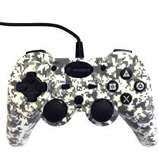 PS3 Snakebyte Wired Controller (Camo)