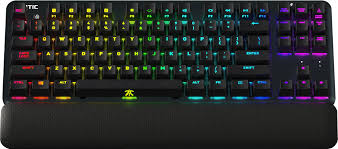 Fnatic Mini Streak RGB USB Mechanical Keyboard - Red Silent Layout