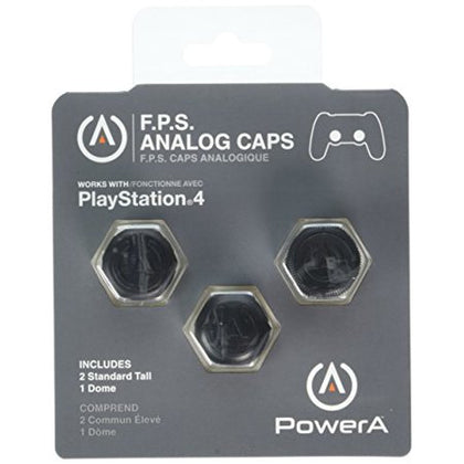 PowerA F.P.S. Analog Caps Keycaps for Sony PlayStation 4
