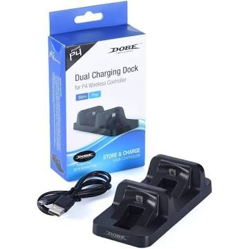 Dobe Dual Controller Charger for PS4 DualShock Controllers