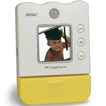 Royal Machines PF Fridgeframe 1.5-Inch LCD Viewer Personal Digital Picture Frame