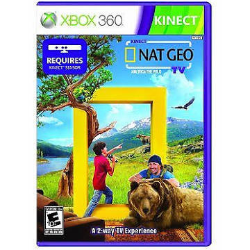 Kinect Nat Geo TV [Xbox 360 Game]