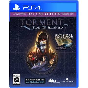 Torment Tides of Numenera Day One Edition [PS4 Game]