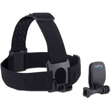 GoPro Head Strap + QuickClip Support system