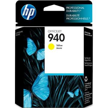 HP 940 Ink Cartridge, Yellow - 1-pack