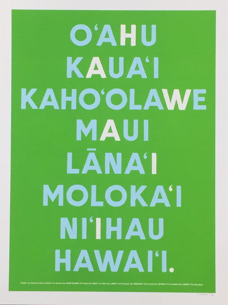 HAWAII Islands Green