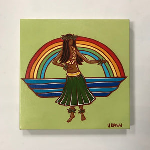 Hula - canvas -