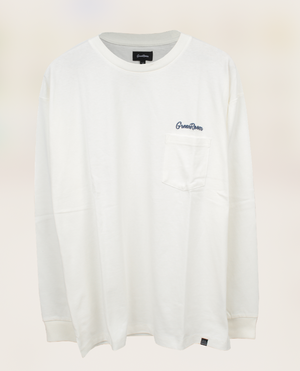Greenroom Logo Long Sleeve T-shirt White