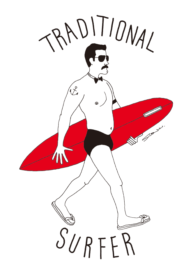 Traditional Surfer