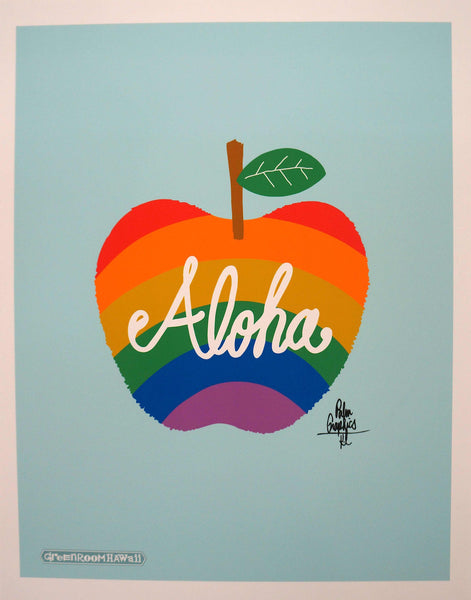ALOHA Vol.04 Apple プリント