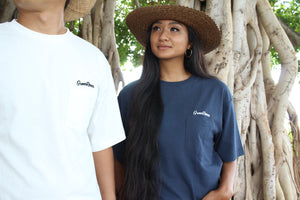 Greenroom Logo T-shirt Navy