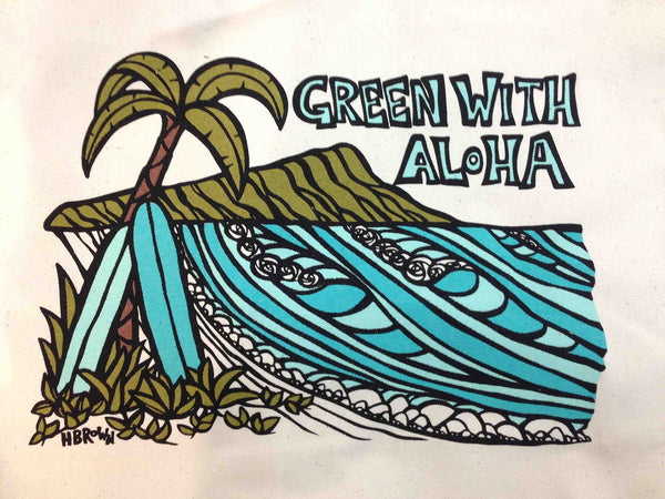 Green With Aloha Diamond Head