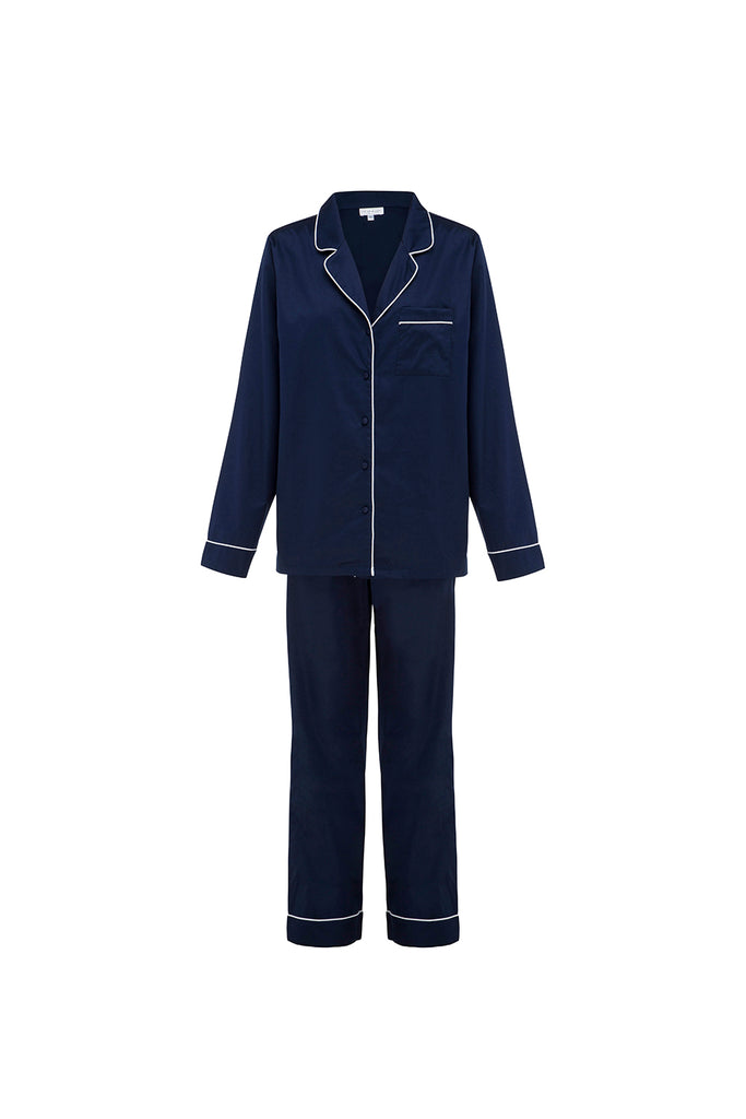 Navy Personalised Luxury Sleepwear