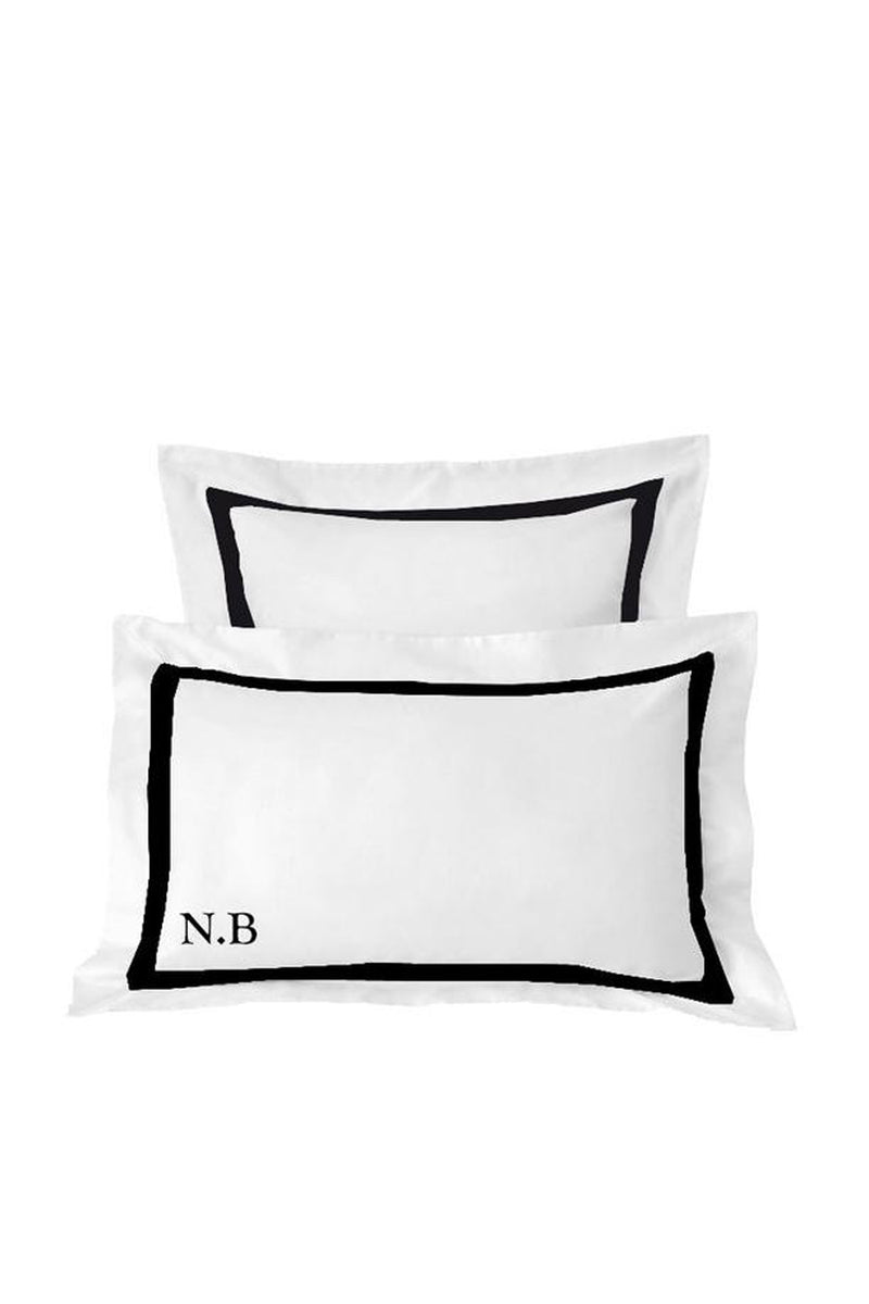 Black Euro Pillowcases