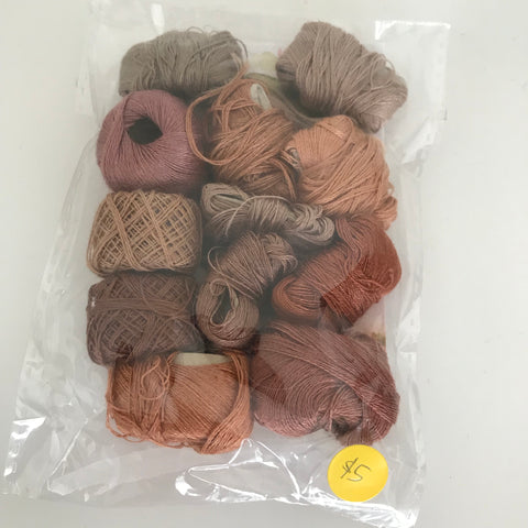 Vintage Hosiery Darning Cotton Mini Assortment