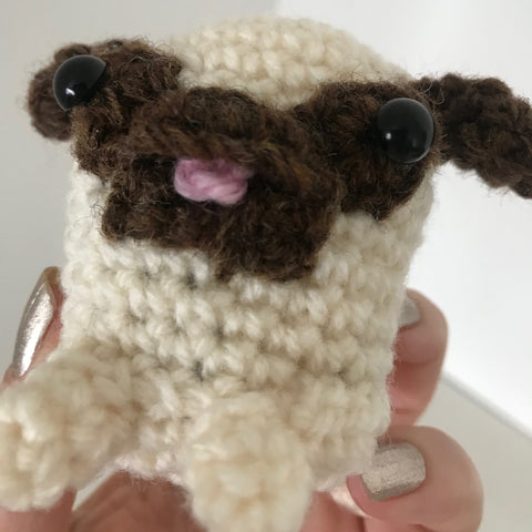 Baby Pug Crochet Toy Pattern Download