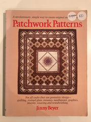 Patchwork Patterns by Jinny Beyer (autographed)